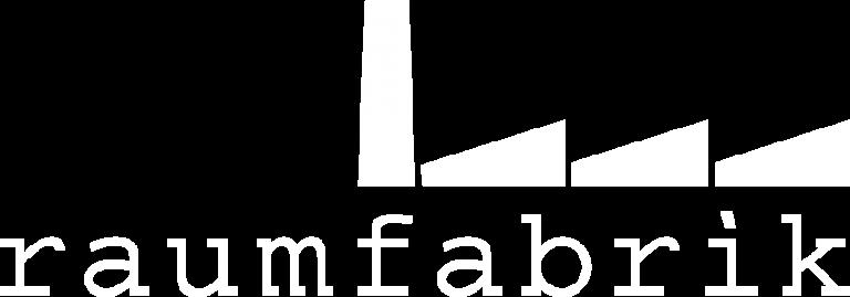 Raumfabrik Logo Weiss