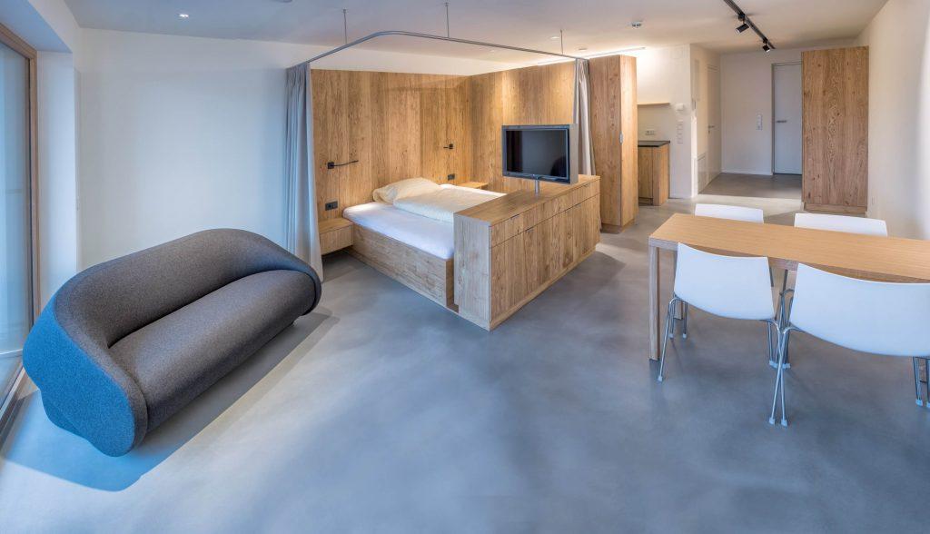 raumfabrik apartmenthaus anna 1